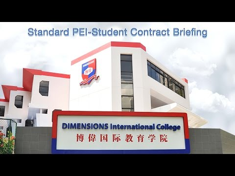 Standard PEI-Student Contract revision 3.0