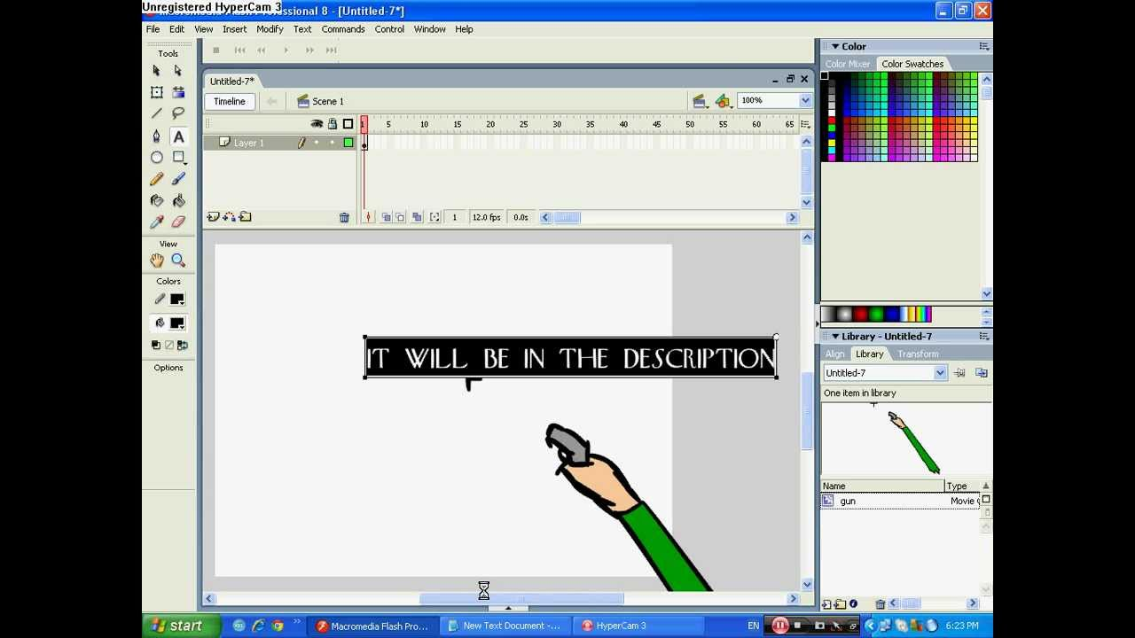 Macromedia Flash Parts images