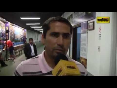 Gustavo Morínigo - Conferencia de prensa post vs. Luqueño en Uruguay