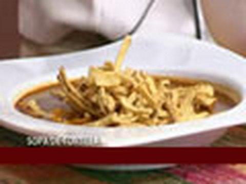 Sopa de Tortilla...Receta