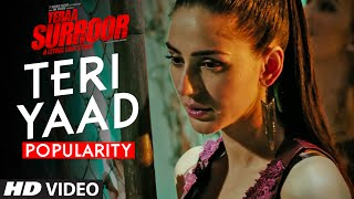 TERI YAAD Video Song Popularity | TERAA SURROOR | Himesh Reshammiya | T-Series