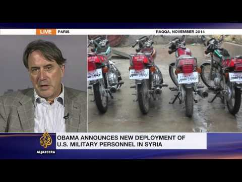 Iraq expert discusses Obama's decision to deploy 250 military personnel to Syria