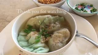How to make Dumplings soup (Soup keiv)
