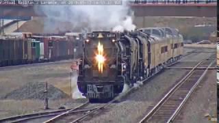 The Railroad Steam engine legend lives on!  UP Big Boy #4014
