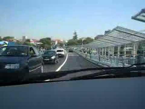 Ponte M�vel Le�a da Palmeira dia da inaugura��o