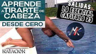 CÓMO TIRARSE DE CABEZA