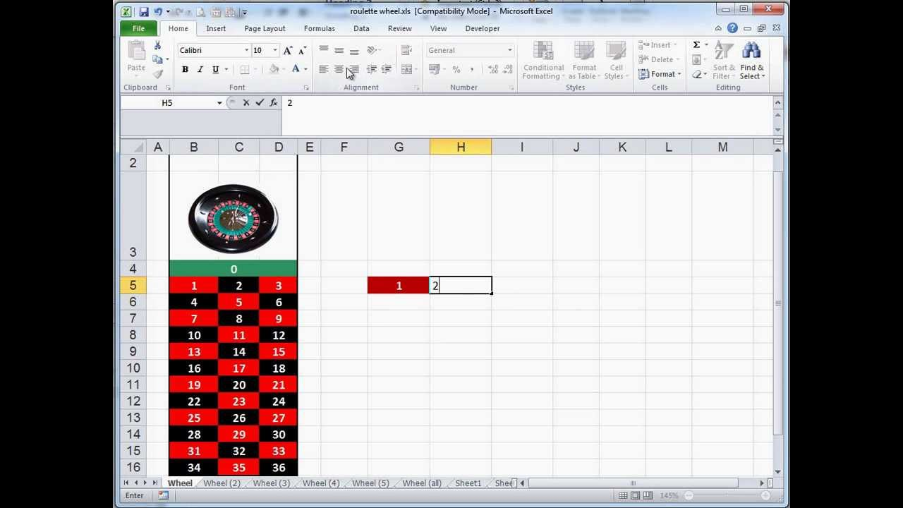 Simulatore roulette excel how you play omaha poker
