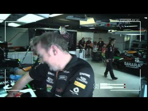 F1 Canada ~ Nico Hulkenberg takes skysports backstage