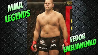 MMA LEGENDS SERIES - FEDOR EMELIANENKO