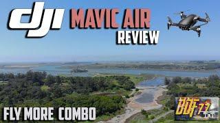 DJI Mavic Air Fly More Combo  Review & 1st Flight