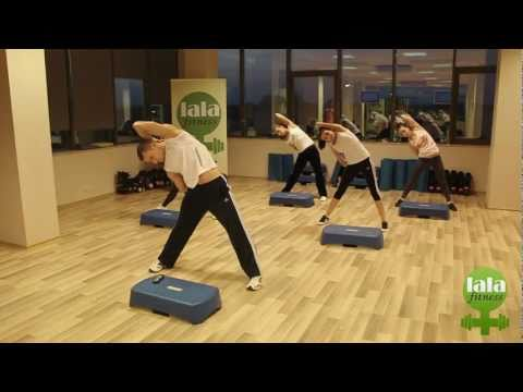 Lala Fitness- Step Aerobic Cu Marian Bucura video