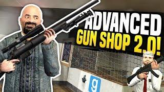 ADVANCED GUN SHOP 2.0 - Gmod DarkRP | Making Huge Profits!