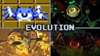 Evolution of Gohma Battles in Zelda games