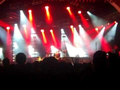 Ben Kasica guitar solo - Skillet live at Rock the Universe 2010