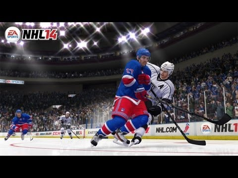 NHL 14 - Collision Physics Gameplay Trailer