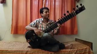 'Aye Mere Hamsafar' Song On Sitar by Sameep Kulkarni ...