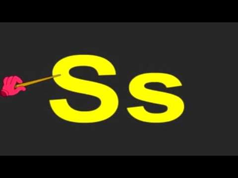 Learn Alphabets - Letter S