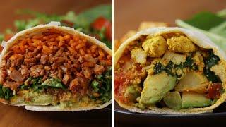 How To Make Meatless Burritos With Tofu And Cauliflower • Tasty