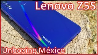Lenovo Z5S Unboxing México/ bueno,bonito y barato?