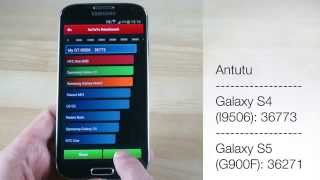 Galaxy S4 LTE-A I9506 benchmarked. Manages to beat the S5 in some tests