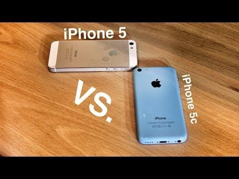 Что выбрать: iPhone 5 или 5c?