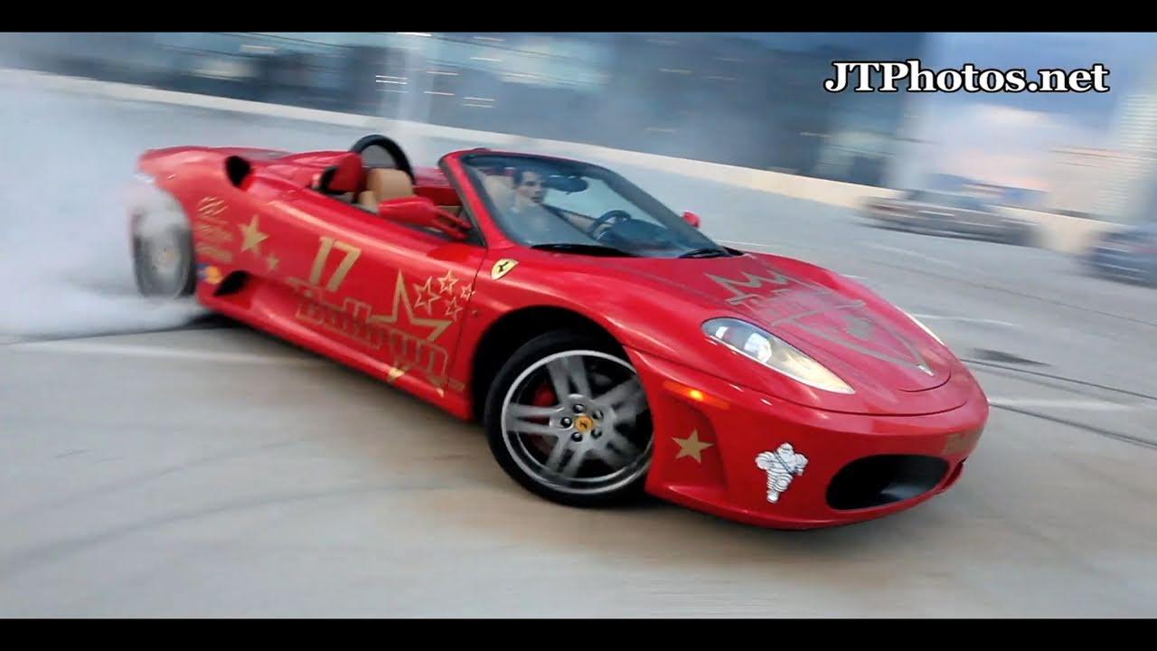 Ferrari F430 Spider Drifting