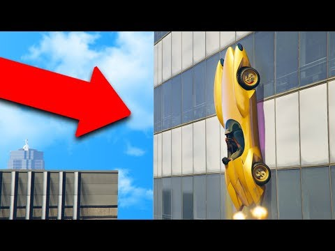 THIS $5,000,000 CAR CAN DRIVE UP BUILDINGS! | GTA 5 THUG LIFE #184