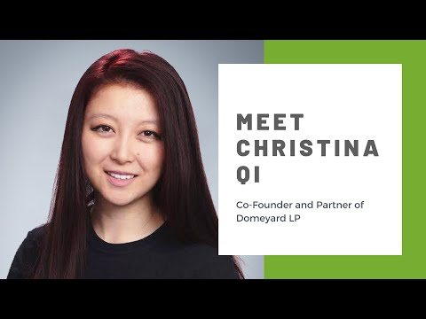 Meet Christina Qi, Co-Founder and Partner of Domeyard LP