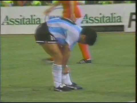 Argentina - Soviet Union World Cup 1990 in Italy 1st half