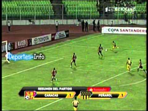 """Vuelta: Peñarol 1 - 1 Caracas """"Copa Santander Libertadores 2012"""" (Deportes-Info)"""
