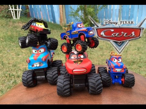 Disney Cars Monster Truck Toys Disney Cars Toys Lightning