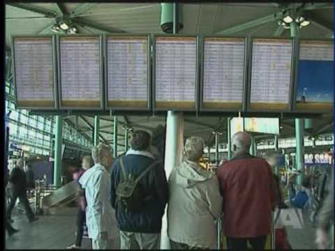 Volcanic Eruption Causes Air Travel Disruption