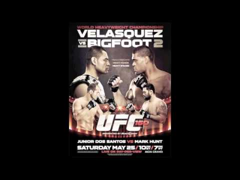UFC 160 Media Call Audio: Cain Velasquez, Antonio Silva, Junior dos Santos, Mark Hunt