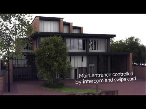 Tour of Equinix's IBX EN1 Data Center in Enschede, Holland