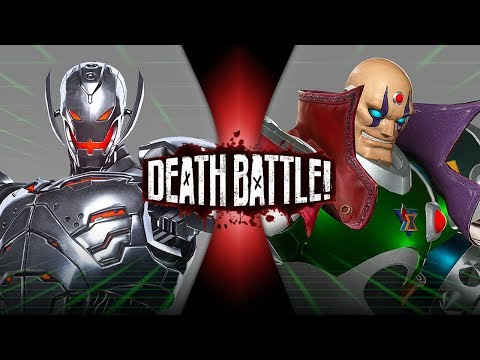 Ultron VS Sigma (Marvel VS Capcom)   DEATH BATTLE!