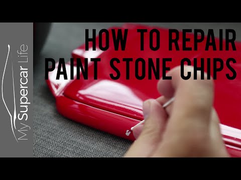 How to Repair Paint Stone Chips