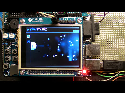MP3 player with scrolling menu on STM32 - Beatstream 2.0