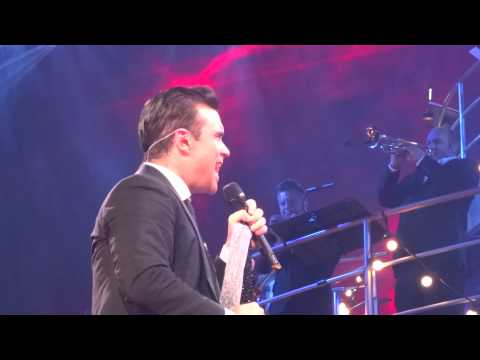 Robbie Williams - Angels (FRONT ROW) - 23-Sept-14 Brisbane HD