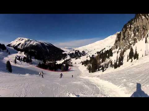 Latemar - slopes 30/30a/28a Video