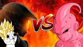 ¿Qué pasaría si Majin Boo despierta en el universo de Halo?