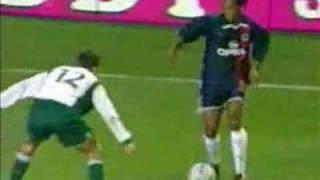 Ronaldinho Elastico/Flip Flap crazy skills compilation