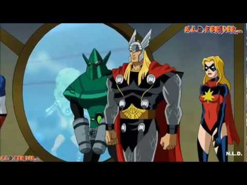Los Vengadores  Los heroes mas poderosos del planeta episodio 42 (Audio Latino)