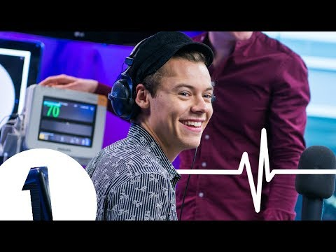 Harry Styles' HEART MONITOR CHALLENGE with Nick Grimshaw