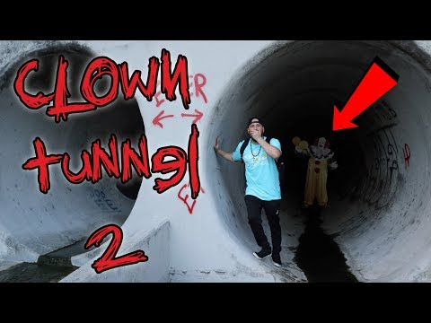 HAUNTED CLOWN TUNNEL PART 2 (SCARED FOR OUR LIVES) | OmarGoshTV