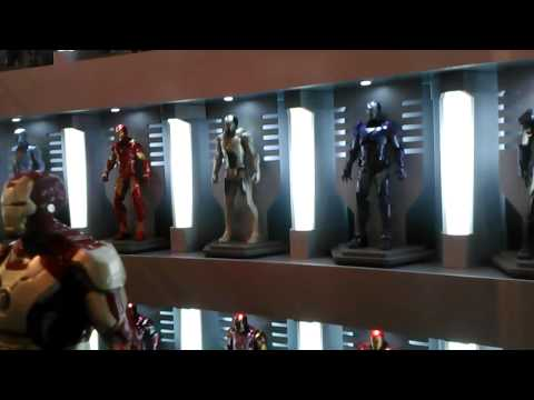 Iron Man 3 - Hall Of Armor Display at Toys R Us Times Square