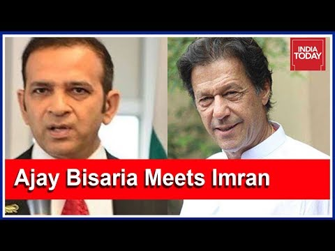 Indian Envoy In Islamabad To Meet Pakistan PM-Elect Imran Khan