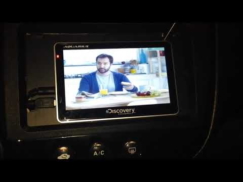 GPS Aquarius Discovery Channel 5.0 TV + Camera de ré 2013