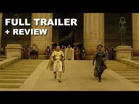 Exodus Gods and Kings Official Trailer + Trailer Review : Beyond The Trailer