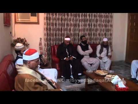Alshaykh Syed Metwali  Qari Syed Sadaqat Ali's House; 12-mar-2013 video