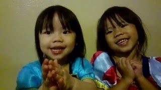 Hmong kids try to be princess and singing lol
